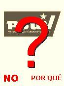 NO! PSUV