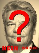 NO! Joachim Gauck