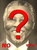 NO! Thabo Mbeki