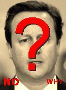 NO! David Cameron
