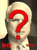 NO! McCain