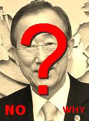  NO! Ki-moon