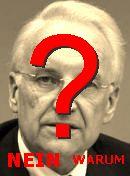 NO! Edmund Stoiber
