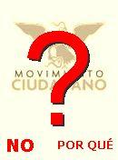NO! Movimiento Ciudadano