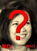 NO! Lourdes Sereno