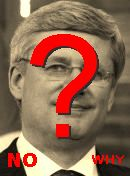 NO! Stephen Harper