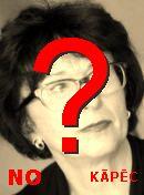 NO! Sandra Kalniete