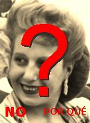 NO! Eva Perón