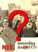 NO! Generálny štrajk v SR