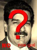 NO! Nicolás Maduro