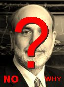  NO! Bernanke