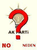NO! AK Parti