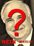 NO! Helmut Kohl