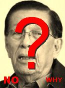 NO! Enrile