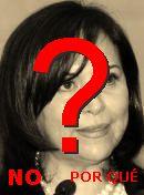 NO! Cristina Díaz Salazar