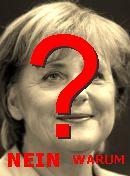 NO! Angela Merkel