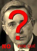 NO! Álvaro Uribe
