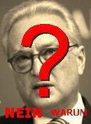 NO! Hannes Swoboda