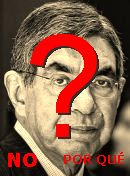 NO! Óscar Arias