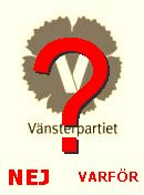 NO! Vänsterpartiet
