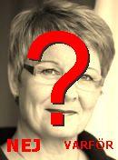NO! Maud Olofsson