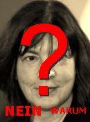 NO! Rebecca Harms