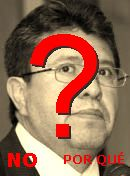 NO! Ricardo Monreal Ávila