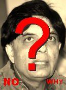 NO! چودھری نثار علی خان