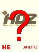 NO! HDZ BiH