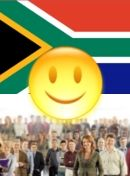 الصورة Pol. situation in South Africa - satisfied
