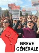 foto  Grève générale en France