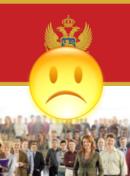 Politička situacija u Crna Gora - nezadovoljan