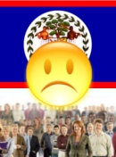 Political situation in Belize - dissatisfied