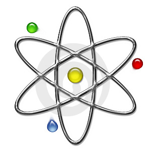Symbol of the atomic energy