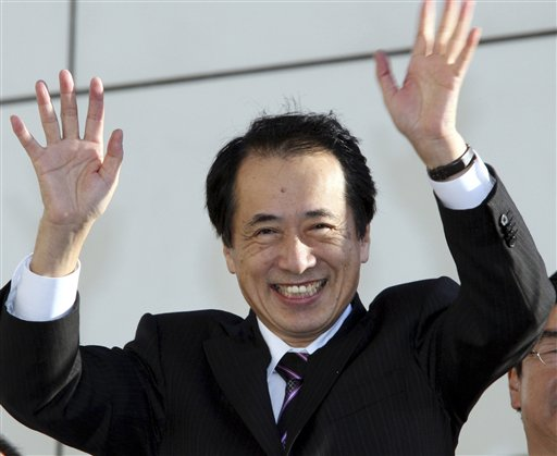 Naoto Kan in Tokyo