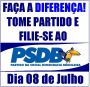 FILIE-SE AO PSDB!